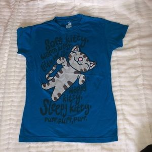 Tops - Soft kitty shirt (Big Bang theory)